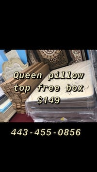 Queen mattress and box spring  Catonsville, 21228