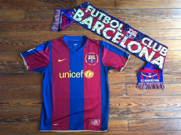 the latest feae6 acc55 FC Barcelona 07/08 Home Jersey (HENRY 14)