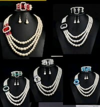 brand new stimulated Pearl 3-piece sets