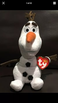 TY Original Beanie Babies Disney Frozen Olaf The Beanie Babies Collection NWT London, N6G 2Y8