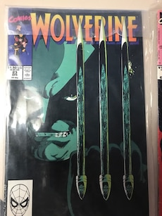 Wolverine comic book