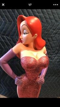 Disney's Jessica Rabbit (large) Rare and highly collectible signed statuette, art, limited edition, rare Baldwin Park, 91706