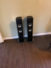 Precision acoustics hd25 hi-def tower speakers North Vancouver, V7J 3P6