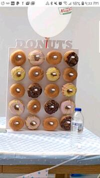 DONUT WALL FOR RENT!