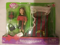 green and pink Barbie doll box Hurst, 76053