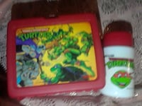 Vintage turtles lunchbox w/thermos Hagerstown, 21740