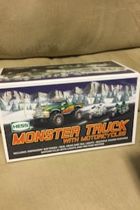 Hess monster truck with motorcycles Quakertown, 18951