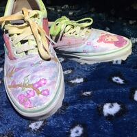 Hand painted complementary colored vans Mercedes, 78570
