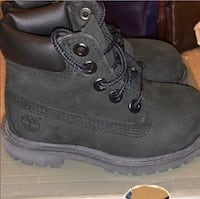 Classic Black Timberland Boots  Baltimore