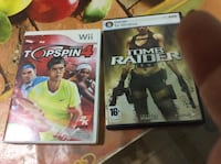 top spin wii / tom raider pc  Μελισσίων