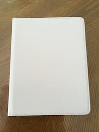 New White iPad tablet computer case Gonzales, 70737