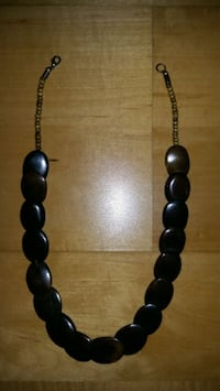 Brown wooden Necklace  Toronto, M8V 4B8
