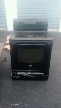 black and gray induction range oven Churchville, 14428