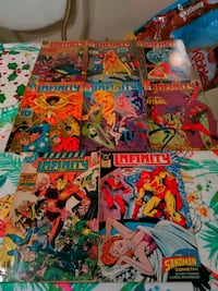 assorted Infinity comic books Mission, 78572