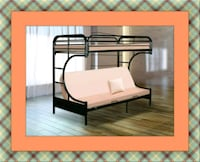 Twin futon bunkbed frame free delivery Falls Church, 22041
