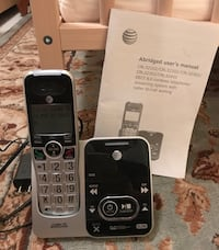 AT&T expandable cordless phone with answering system Plantation, 33317