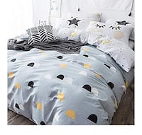 NWT- Grayish blue twin duvet cover with dot design Linthicum Heights, 21090
