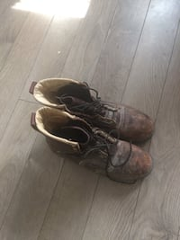 Pair of brown leather boots Ottawa, K1K 1C7