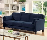 New navy couch  Long Beach