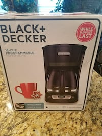 Black + Decker coffee maker new in box