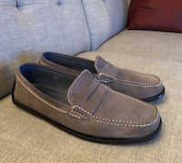 TOD'S Italy Grey Suede Driver Loafers Men's Shoes Size 10 Toronto, M8X 2W4