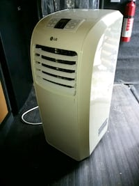white and black portable air cooler Bolivar, 25425