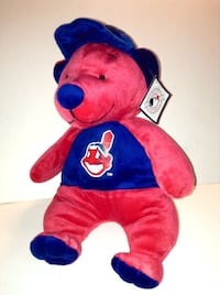 Cleveland Indians MLB Plush Bear 12 inches by Good Stuff London