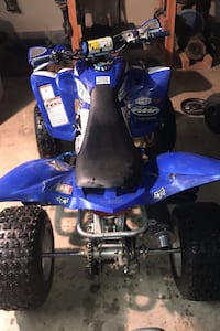 Raptor 350 quad atv