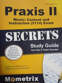 Praxis II Secrets study guide book North Potomac, 20878