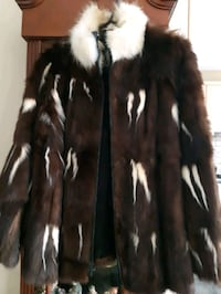 Real fur,size M