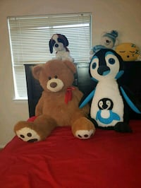 brown and black bear plush toys Gaithersburg, 20886