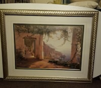 Painting, Beautifully Framed and Matted. Los Angeles, 91602