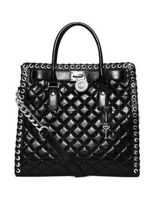 Michael Kors Large Hamilton Quilted Bag
