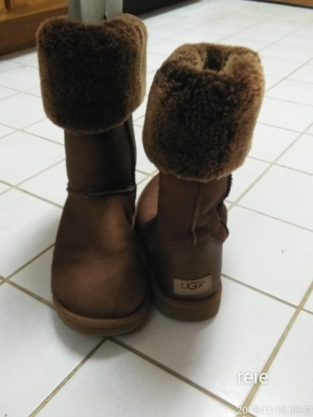 Used, pair of chestnut UGG Classic Tall for sale  Shillington