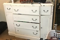 White buffet table 150 obo
