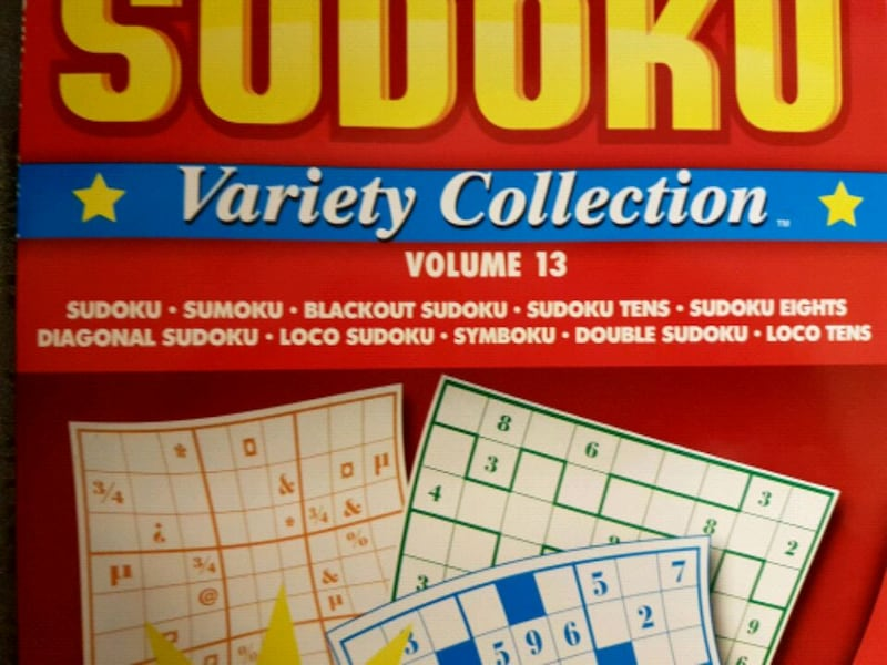 Sudoku and Super Sudoku books - price for both  6