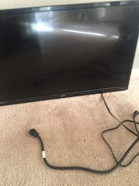 black flat screen TV with remote Columbus, 43229