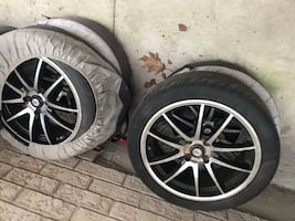 DAI alloy rims