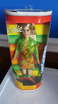 Barbie doll in green and black dress Calgary, T2Z 3Y5