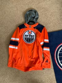 New Oilers Adidas sweater