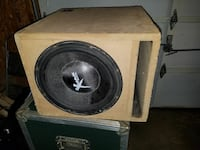 Phoenix Gold XMAX subwoofer with enclosure Westminster, 21157