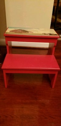 Solid wood stepping stool Gaithersburg, 20878