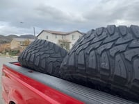 4 Toyo Open Country tires 38/15.5/18 Jurupa Valley, 92509