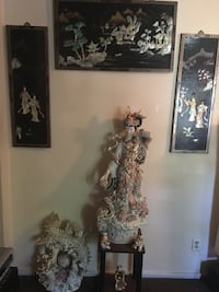 brown and white floral wall decor Lakewood, 08701