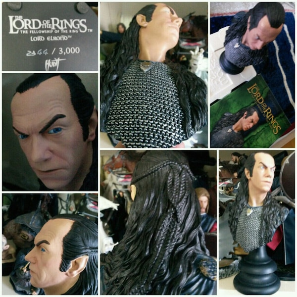 WETA LORD OF THE RINGS LORD ELROND LIMITLI STATUE