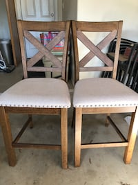New - Counter Height Barstools (2)