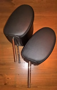 NEW Pair of second row Rear Seat Headrests
