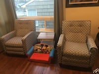 Pick up in magnolia recliners