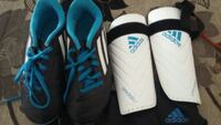 Side 2 soccer cleats and shin guards  Clovis, 93611