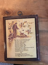Wooden Prayer for Peace Highlands Ranch, 80126